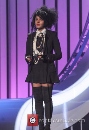 Janelle Monae - 2015 Soul Train Music Awards held at Orleans Arena - Show - Las Vegas, Nevada, United States...