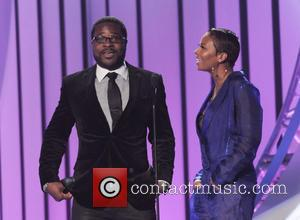 Malcolm Jamal Warner , Eva Marcille - 2015 Soul Train Music Awards held at Orleans Arena - Show - Las...
