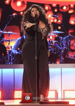 Jazmine Sullivan - 2015 Soul Train Music Awards held at Orleans Arena - Show - Las Vegas, Nevada, United States...
