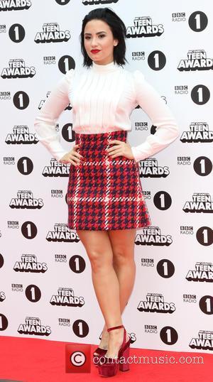 Demi Lovato - BBC Radio 1's Teen Awards at SSE Wembley Arena, London at SSE Wembley Arena, Wembley Arena -...