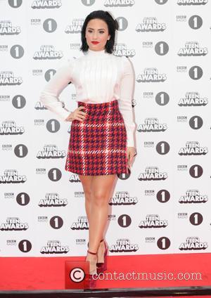 Demi Lovato - BBC Radio 1 Teen Choice Awards  Wembley Arena London at Teen Choice Awards, Wembley Arena -...