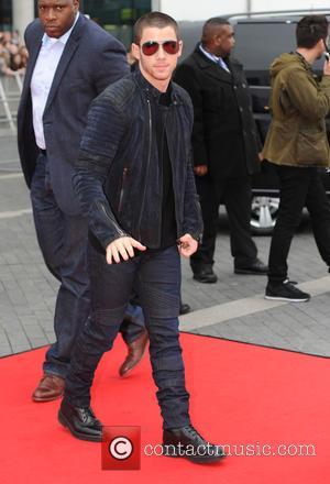 Nick Jonas - BBC Radio 1 Teen Choice Awards  Wembley Arena London at Teen Choice Awards, Wembley Arena -...