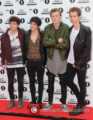 The Vamps, Tristan Evans, Bradley Simpson, Connor Ball , James Daniel McVey - BBC Radio 1 Teen Choice Awards...