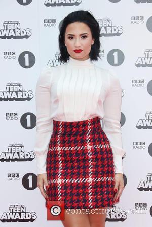 Demi Lovato - Radio 1 Teen Awards 2015 held at Wembley Arena - Arrivals at Wembley Arena - London, United...