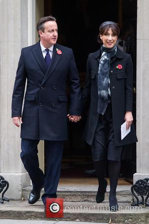 David Cameron and Samantha Cameron