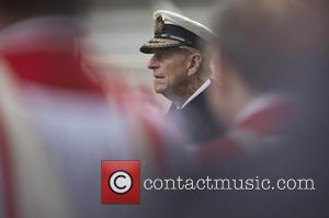 Prince Philip - Member of the Royal family attends a service at the cenotaph for Remembrance Sunday to remember those...