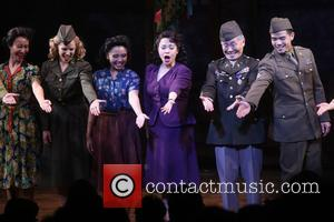 Katie Rose Clarke, Janelle Toyomi Dote, Lea Salonga, George Takei and Telly Leung