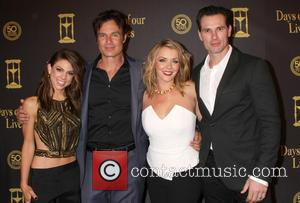 Kate Mansi, Patrick Muldoon, Christie Clark and Austin Peck