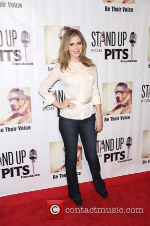 Ashley Jones - Stand Up For Pits Comedy Benefit at The Improv comedy club - Arrivals - Los Angeles, California,...