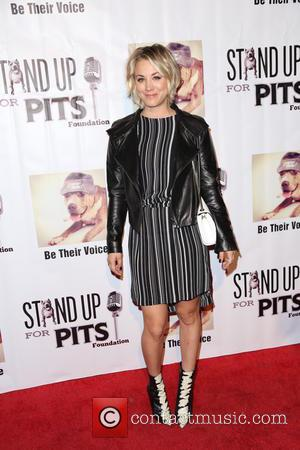 Kaley Cuoco - Stand Up For Pits Comedy Benefit at The Improv comedy club - Arrivals - Los Angeles, California,...