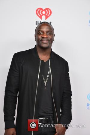 Akon - I Heart Radio Festival Latina at the American Airlines Arena - Arrivals at American Airlines Arena - Miami,...