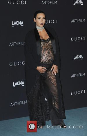 Kim Kardashian - LACMA Art + Film Gala 2015 - Arrivals - Los Angeles, California, United States - Sunday 8th...