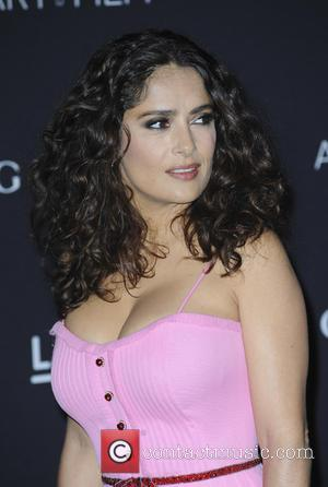 Salma Hayek - LACMA Art + Film Gala 2015 - Arrivals - Los Angeles, California, United States - Sunday 8th...