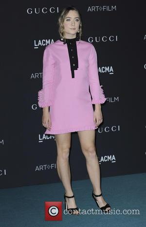 Saoirse Ronan - LACMA Art + Film Gala 2015 - Arrivals - Los Angeles, California, United States - Sunday 8th...