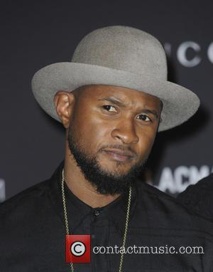 Usher - LACMA Art + Film Gala 2015 - Arrivals - Los Angeles, California, United States - Sunday 8th November...