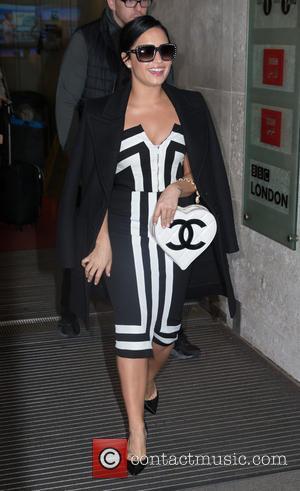 Demi Lovato - Celebrities at BBC Radio 1 at BBC Portland Place - London, United Kingdom - Monday 9th November...