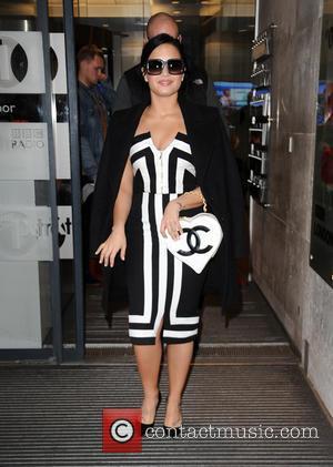 Demi Lovato - Demi Lovato at BBC Radio 1 - London, United Kingdom - Monday 9th November 2015