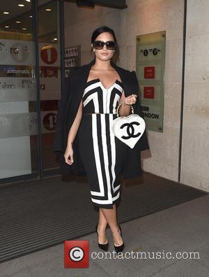 Demi Lovato - Demi Lovato and Nick Jonas arrive at the Radio 1 studios to promote their new album -...