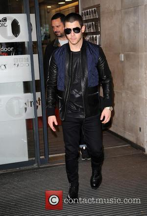 Nick Jonas - Nick Jonas at BBC Radio 1 - London, United Kingdom - Monday 9th November 2015
