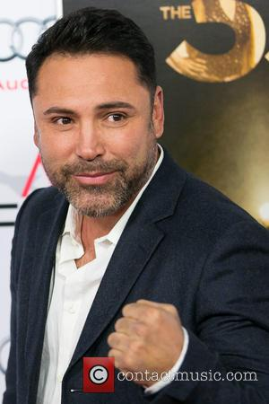 Oscar De La Hoya - Celebrities attend AFI FEST 2015 Presented By Audi Centerpiece Gala Screening of THE 33 at...