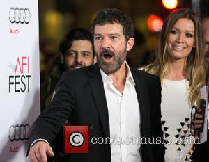 Antonio Banderas , Nicole Kimpel - Celebrities attend AFI FEST 2015 Presented By Audi Centerpiece Gala Screening of THE 33...