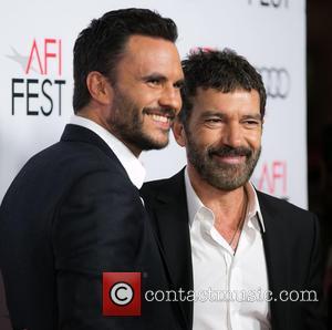 Juan Pablo Raba and Antonio Banderas