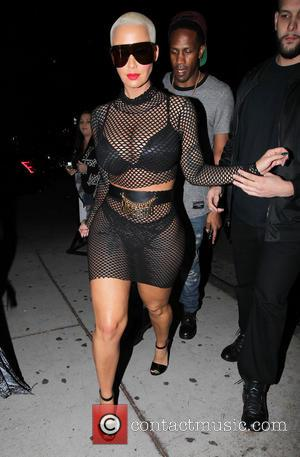 Amber Rose - Amber Rose arrives at Ace of Diamonds in Los Angeles - Los Angeles, California, United States -...