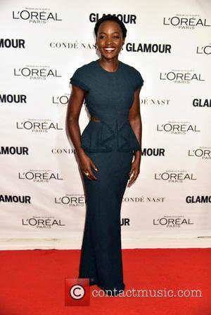 Lupita Nyong'o - 2015 Glamour Women Of The Year Awards held at Carnegie Hall - Arrivals at Carnegie Hall -...