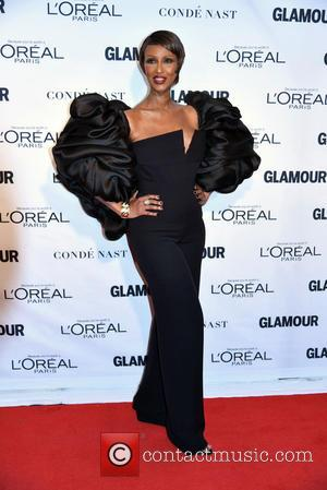 Iman - 2015 Glamour Women Of The Year Awards held at Carnegie Hall - Arrivals at Carnegie Hall - New...
