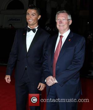 Christiano Ronaldo and Sir Alex Ferguson