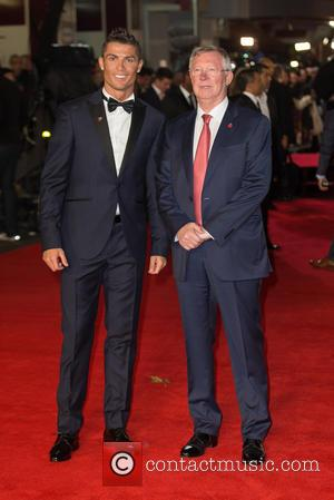 Alex Ferguson and Cristiano Ronaldo