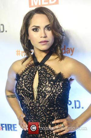 Monica Raymund - Red Carpet arrivals for NBC's Chicago Fire, Chicago P.D., and Chicago Med at STK Steakhouse Chicago in...