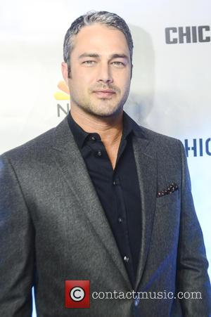 Taylor Kinney - Red Carpet arrivals for NBC's Chicago Fire, Chicago P.D., and Chicago Med at STK Steakhouse Chicago in...