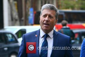 Neil Fox - Neil Fox arrives at court for his ongoing trial on charges of alleged historical sex offences -...