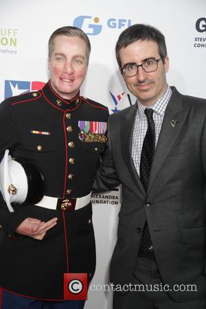 John Oliver and Arron Mankin Us Marine