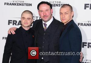 Daniel Radcliffe, James Mcavoy and Paul Mcguigan