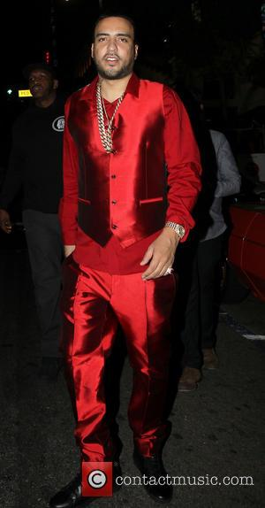 French Montanna - French Montana celebrates his 31st birthday at House of Macau with friends - Los Angeles, California, United...