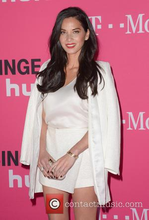 Olivia Munn - T-Mobile Uncarrier X launch at The Shrine Auditorium - Arrivals at The Shrine Auditorium - Los Angeles...