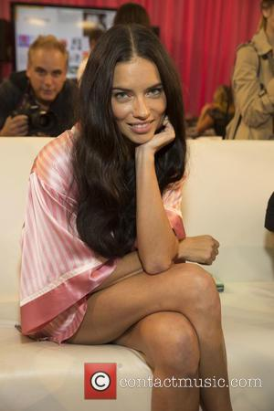 Adriana Lima - 2015 Victoria's Secret Fashion Show at The New York Armory - Backstage at Victoria's Secret - New...