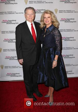Mary Hart and Burt Sugarman