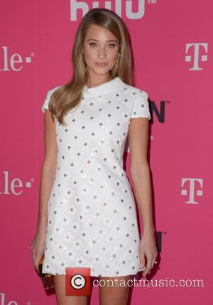 Hannah Davis - T-Mobile Uncarrier X launch at The Shrine Auditorium - Arrivals at The Shrine Auditorium - Los Angeles...