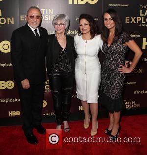Emilio Estefan, Rita Moreno, Gloria Estefan and Audrey Puente