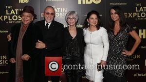 Cheech Marin, Emilio Estefan, Rita Moreno, Gloria Estefan and Audre Puente