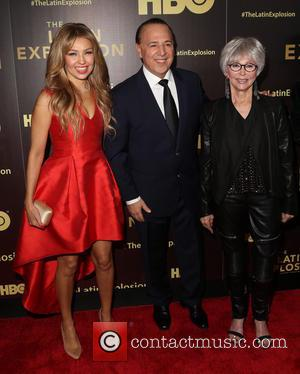 ThalÍa, Tommy Mottola and Sheila Nevins
