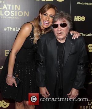 Lili Estefan and Jose Feliciano
