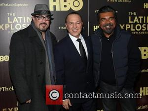David Zayas Jr, Tommy Mottola and George Lopez