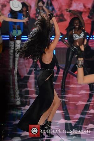 Selena Gomez - 2015 Victoria's Secret Fashion Show - Runway at Victoria's Secret - New York, New York, United States...