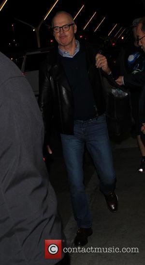 Michael Keaton - Michael Keaton arrives on a flight to Los Angeles International Airport (LAX) - Los Angeles, California, United...