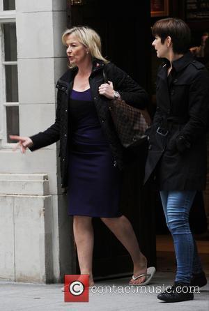 Carol Kirkwood - Carol Kirkwood out and about in London - London, United Kingdom - Wednesday 11th November 2015