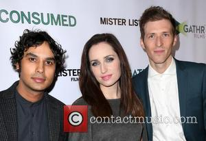 Kunal Nayyar, Zoe Lister-jones and Daryl Wein